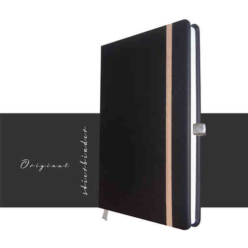 Notebook Genuine Leather black A5