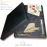 Complete handmade gift box for Stierbinder notebooks A4